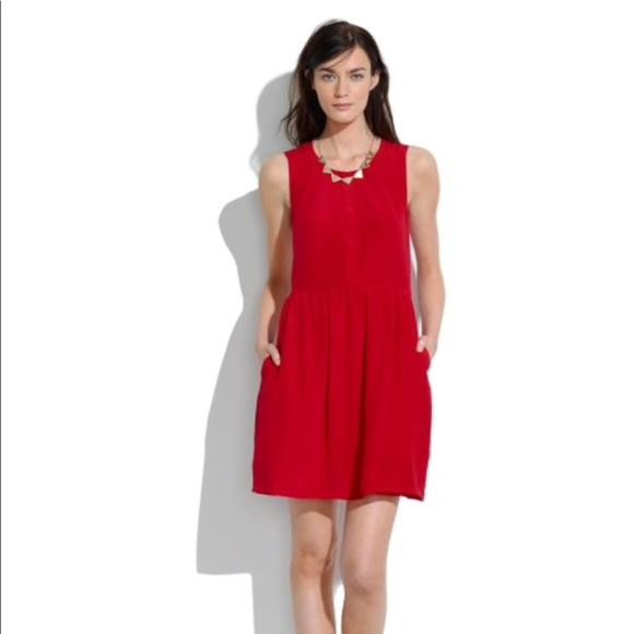 ab2b0febe1 Madewell Dresses   Skirts - Shirred silk dress